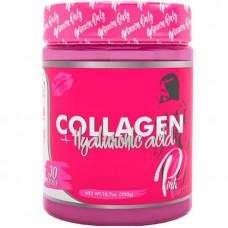 Коллаген + гиалуроновая кислота Steel Power Pink Power Collagen+ 300 г coca-cola