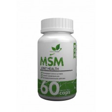 MSM NaturalSupp 60 капсул unflavored