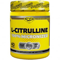 Steel Power Nutrition L-цитруллин 200 г natural taste
