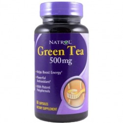Natrol Green Tea 60 капсул