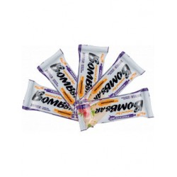 Батончик Bombbar Protein 5 60 г, 5 шт., малиновый чизкейк