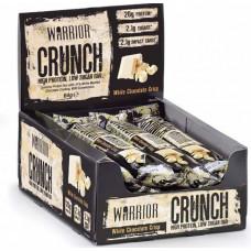 Батончик Warrior Crunch Bars 12 64 г, 12 шт., white chocolate