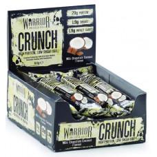 Батончик Warrior Crunch Bars 12 64 г, 12 шт., milk chocolate coconut