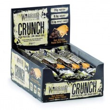 Батончик Warrior Crunch Bars 12 64 г, 12 шт., dark chocolate peanut butter