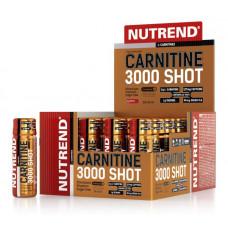 Nutrend Чистый l-карнитин 3000 Shot 60 мл, 20 шт. клубника