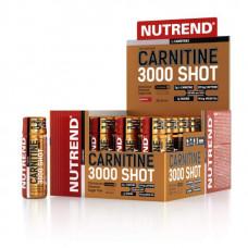 Nutrend Чистый l-карнитин 3000 Shot 60 мл, клубника
