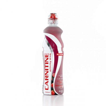 Carnitine Activity Drink Nutrend, 750 мл - С кофеином Ягодный микс