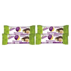 Батончик Racionika Diet 4 50 г, 4 шт., песочное печенье