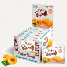 Печенье Solvie Protein Biscuits 10 40 г, 10 шт., абрикос