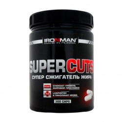 Жиросжигатель Ironman Super Cuts 300 капсул