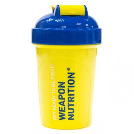 Шейкер Weapon Nutrition 500 мл желтый