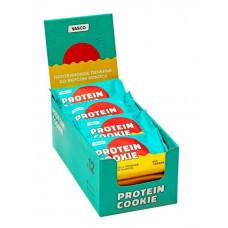 Печенье Vasco Protein Cookie 12 60 г, 12 шт., кокос