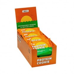 Печенье Vasco Protein Cookie 12 60 г, 12 шт., орехи
