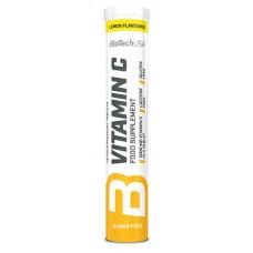 BioTech USA Vitamin C Effervescent лимон 20 шипучих таблеток