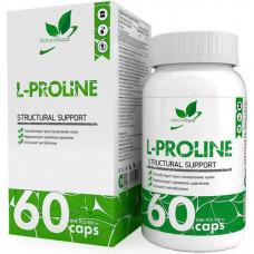 Л-Пролин для суставов и связок NATURALSUPP L-Proline 500мг - 60 капсул