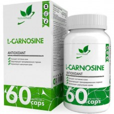 Л-Карнозин аминокислота NATURALSUPP L-Carnosine 500мг - 60 капсул