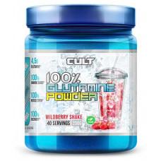 Глютамин Cult 100% Glutamine Powder Лесные ягоды 200г