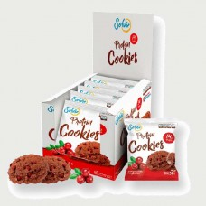 Печенье Solvie Protein Cookies 10 50 г, 10 шт., шоколадное с клюквой
