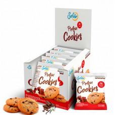 Печенье Solvie Protein Cookies 10 50 г, 10 шт., ванильное с шоколадными чипсами