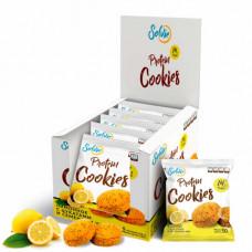 Печенье Solvie Protein Cookies 10 50 г, 10 шт., лимонное с цукатами