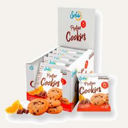 Печенье Solvie Protein Cookies 10 50 г, 10 шт., апельсиновое с шоколадными чипсами