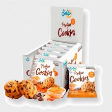 Печенье Solvie Protein Cookies 10 50 г, 10 шт., арахисовая паста и шоколадные чипсы