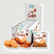 Печенье Solvie Protein Cookies 10 50 г, 10 шт., миндальное с кусочками миндаля