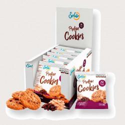 Печенье Solvie Protein Cookies 10 50 г, 10 шт., овсяные хлопья и изюмом