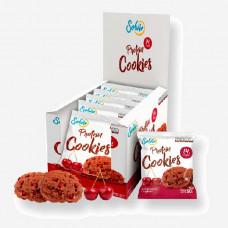 Печенье Solvie Protein Cookies 10 50 г, 10 шт., шоколадное с вишней