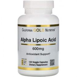 California Gold Nutrition Alpha Lipoic Acid 600 120 капсул