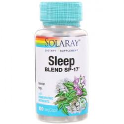 Solaray Sleep Blend SP-17 100 капсул