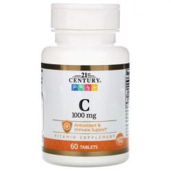 21st Century - Vitamin C - 1000 mg - 60 таблеток - Витамин C 1000 мг