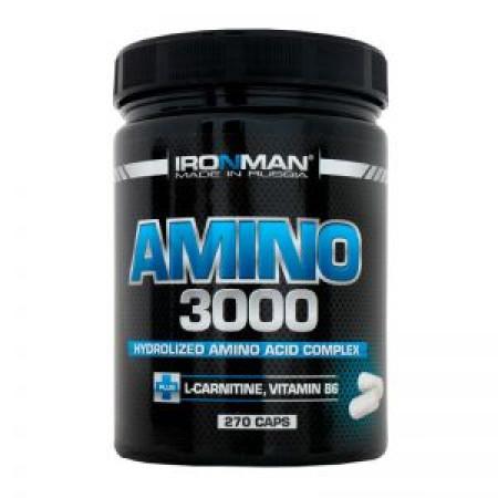 Amino 3000 IRONMAN - 270 капс. без вкусов