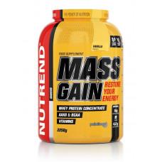 Гейнер NUTREND Mass Gain - 2.3 кг ваниль