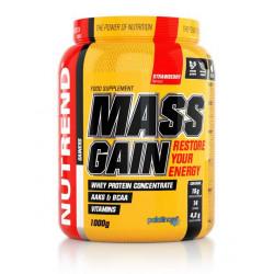 Гейнер NUTREND Mass Gain - 1.0 кг клубника