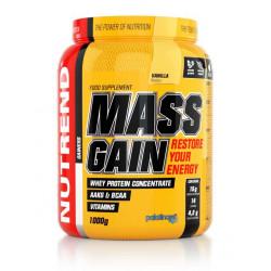 Гейнер NUTREND Mass Gain - 1.0 кг ваниль