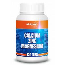 Calcium-Zinc-Magnesium 120 таблеток Strimex