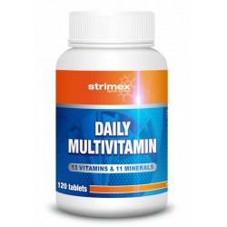 DAILY MULTIVITAMIN 120 таблеток Strimex