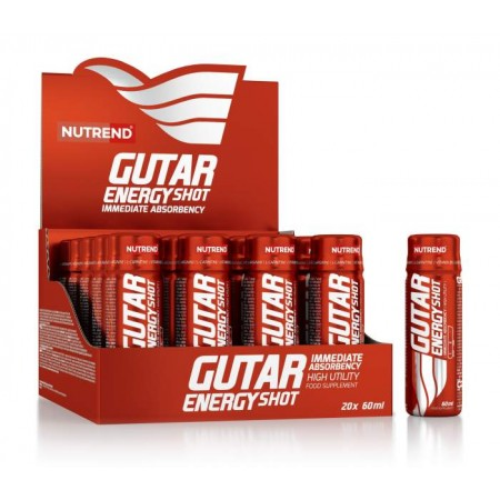 Напиток NUTREND Gutar Energy Shot - 20 флак x 60 мл