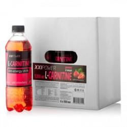 Напиток XXI Power L-Карнитин Вкус:Земляника, 6х500 мл