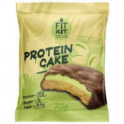Fit Kit Protein Cake 70 г мини-набор из 3 шт Фисташковый крем