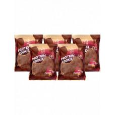 Печенье Fit Kit Chocolate Protein Cookie 5 50 г, 5 шт., вишневый пирог