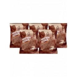 Печенье Fit Kit Chocolate Protein Cookie 5 50 г, 5 шт., капучино