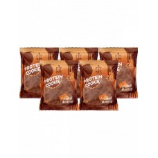 Печенье Fit Kit Chocolate Protein Cookie 5 50 г, 5 шт., карамельный мусс