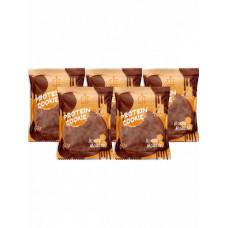 Печенье Fit Kit Chocolate Protein Cookie 5 50 г, 5 шт., медовый мусс