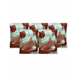 Печенье Fit Kit Chocolate Protein Cookie 5 50 г, 5 шт., мятное мороженое