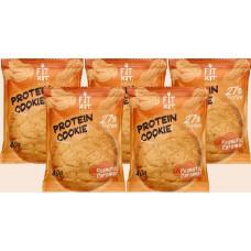 Печенье Fit Kit Protein Cookie 5 40 г, 5 шт., арахис/карамель
