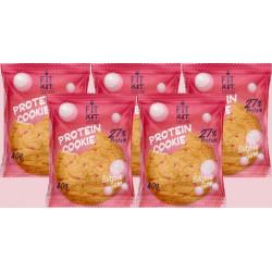 Печенье Fit Kit Protein Cookie 5 40 г, 5 шт., бабл-гам