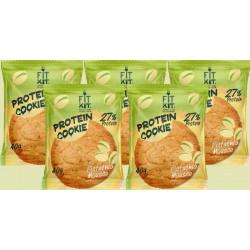 Печенье Fit Kit Protein Cookie 5 40 г, 5 шт., фисташковый мусс