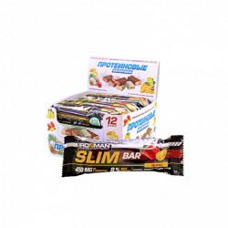 Батончик Ironman Slim Bar 12 50 г, 12 шт., мюсли